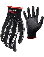 Bone Series Foam Nitrile Mechanic Gloves with Grip