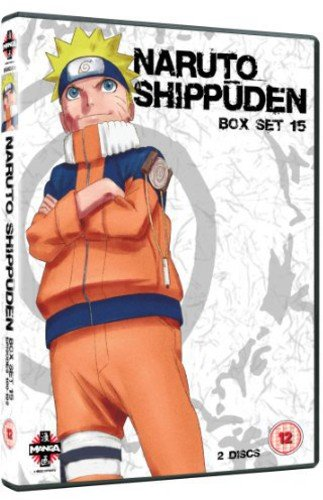 Naruto Shippuden Box 15 (Episodes 180-192) [Import]