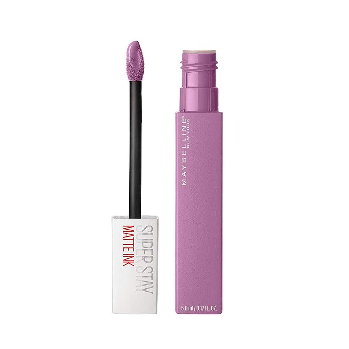 挨拶不適当リスナーMaybelline New York Super Stay Matte Ink Liquid Lipstick,100 Philosopher, 5ml