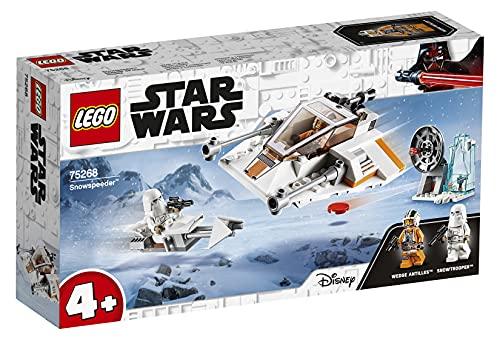LEGO 75268 Star Wars Speeder de Nieve con Moto Speeder, Estación de Defensa y 2 Mini Figuras, Juguete de Construcción