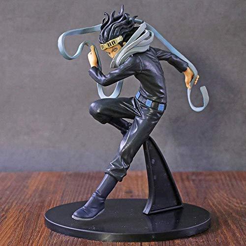 My Hero Academia Eraser Head Shouta Aizawa PVC modelo de estatua de juguete modelo de colección de escritorio decoración 19Cm