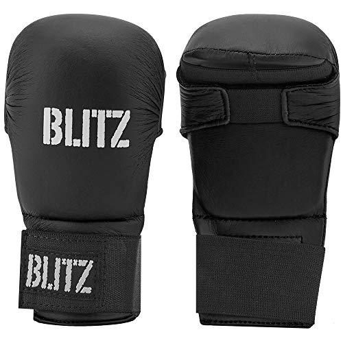 Blitz Elite Mitts Ohne Daumen, Schwarz, XL