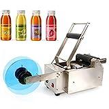 OUKANING 12-90mm Etikettiermaschine Etikettierer Für Rundflasche MT-50 120W 50 Stück/M