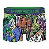 FREEGUN - Boxer Super-Villains Batman Homme - Vert - L -