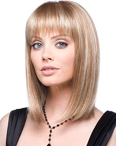 Dream Queen® courte droite cheveux blond perruque cheveux pour femme