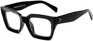 宮川大輔 さん愛用のエフェクター風 黒縁メガネ 伊達 大きい 無骨 おしゃれ だてめがね 大きめ ブラック レディース メンズ 男女兼用 だて眼鏡 FUJIYAMA GLASSES GLASS