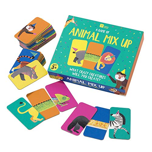 Talking Tables MIXUP Animal Mix Up Game, Multicolore