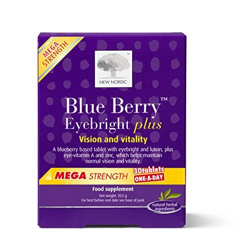 günstig Neue Nordic Blueberry Mega OAD 30 Tabletten, 100 g Vergleich im Deutschland