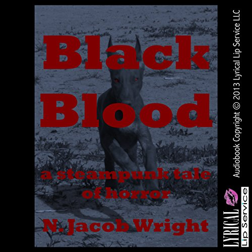 Black Blood audiobook cover art