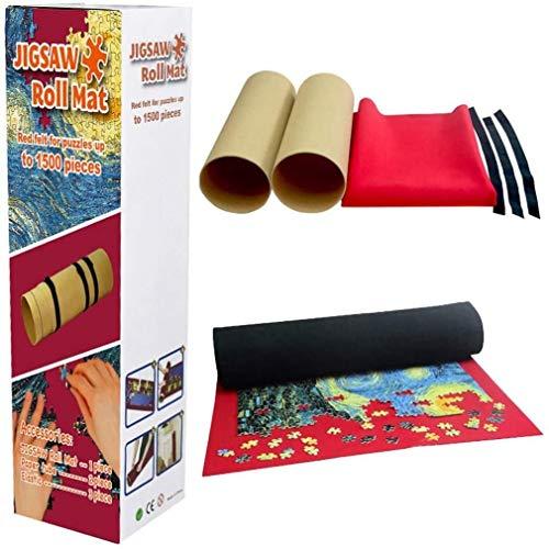 XQLSRJ Puzzle Mat, 41x30inch Puzzle Rotolo Bagagli Mat Jigroll Fino a 2000 Pezzi con Coulisse Storage Bag, No The Puzzle (Multicolore) Decorazioni per la casa (Color : Multicolor)