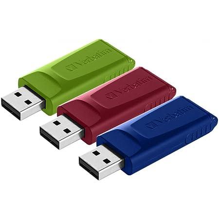Verbatim Slider Usb Stick Multipack 16gb I Usb 2 0 I 3x Computer Zubehör
