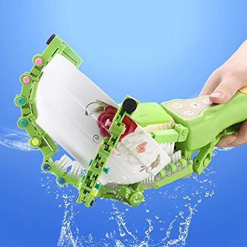 Mini Portátil Lavavajillas Inteligente de Mano Lavadora Automática de Platos Scrubber Portátil Cocina Lavavajillas Cepillo de Autoservicio Lavadora de Lavavajillas Máquina verde
