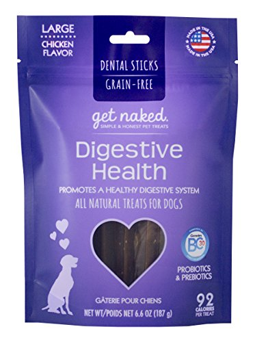 Get Naked Grain Free Dental Chew Sticks Now $3.43 (Was $8.99) + MORE