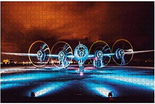 1000 piezas-b 29 superfortress Bomber Aviation Military Aviones e imágenes Rompecabezas de madera DIY Rompecabezas educativos para niños Regalo de descompresión para adultos Juegos creativos Juguetes