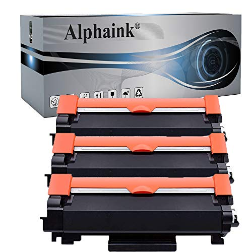 3 Toner Alphaink Compatibile con Brother TN-2420 (CON CHIP) versione da 3000 copie per stampanti Brother DCPL2510D 2512D 2530DW HL2310D 2350DW 2370DN 2372DN 2375DW MFC2710DW 2730DW 2750DW