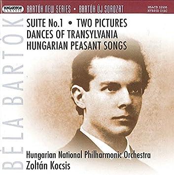 Bartók: Suite No. 1 / 2 Pictures / Transylvanian Dances / Hungarian Peasant Songs