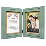Gifts for Wife, Girlfriend, Fiance, Husband, Boyfriend - 5x7 Rustic Wood Picture Frames with 'My...