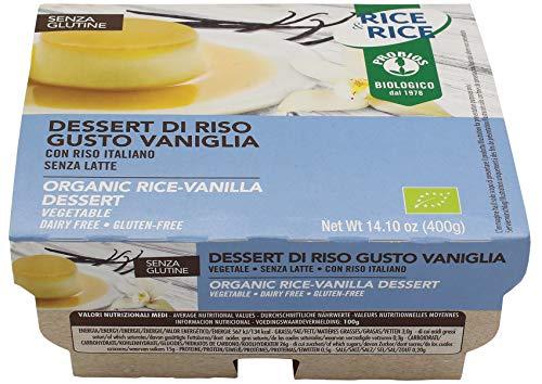 Probios Dessert Riso alla Vaniglia - Pacco da 6 x 4 -Totale: 24 pezzi