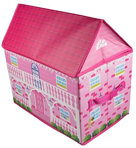 Clever Creations - Kinder Spielhaus-Aufbewahrungsbox - faltbare robuste Spielzeugkiste für das Kinderzimmer - perfekte Größe für...