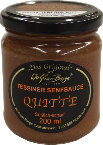 Tessiner Quitten Senfsauce 200ml