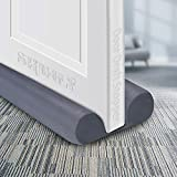 """SHMILY Door Draft Stopper, Weather Stripping Door Seal Strip Household Products Dust-Proof, Winter-Proof, Block Light, Block Noise. Multifunctional, Durable, Adjustable Size from 32"""" to 38"""" (Gray)"""