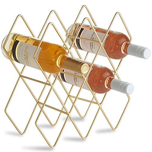 VonShef Wine Rack, Freestanding Bottle Holder, Shelves,...
