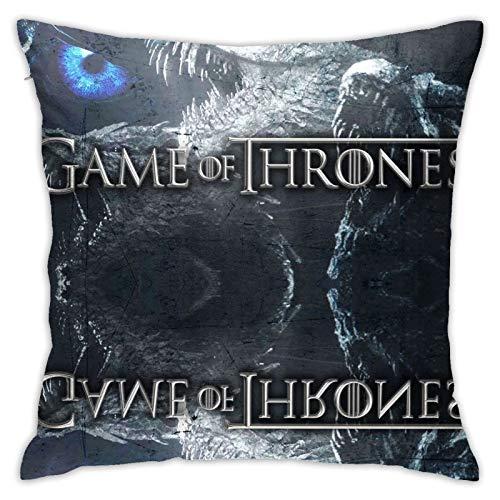 Ga-me of Thr-ones para todas las estaciones Baratheon Queen Abrecartas noche King Magic fundas de almohada para niños sala de estar, juego de cama regalos con cremallera invisible 114,3 x 114,3 cm