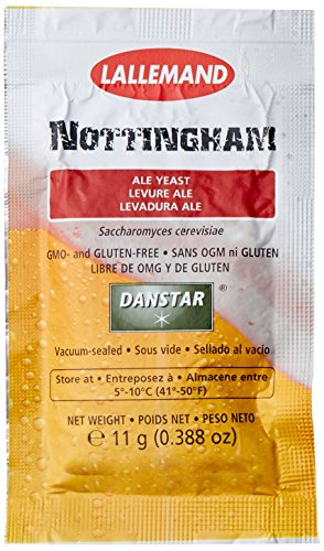 Lallemand DB-R43Y-0P5D Nottingham Ale Yeast(11 grams)