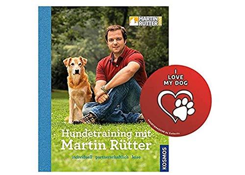 KOSMOS Hundetraining mit Martin Rütter Gebundene Ausgabe + Hunde Sticker