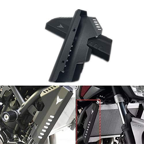 Preisvergleich Produktbild CHUDAN Motorrad Sturzpads Sturzschutz Schutzabdeckung Anti-Fall-Board Wassertanknetz Linke und rechte Schutzhülle für Yamaha MT-07 FZ07, Black