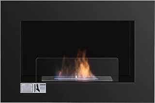 Tangkula 27.5'' Wall Mounted Bio-Ethanol Fireplace Ventless Hanging Fireplace Burner Tabletop Fireplace