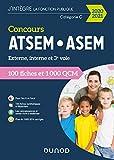 Concours ATSEM/ASEM 2020/2021 - 100 Fiches et 1 000 QCM (2020-2021)