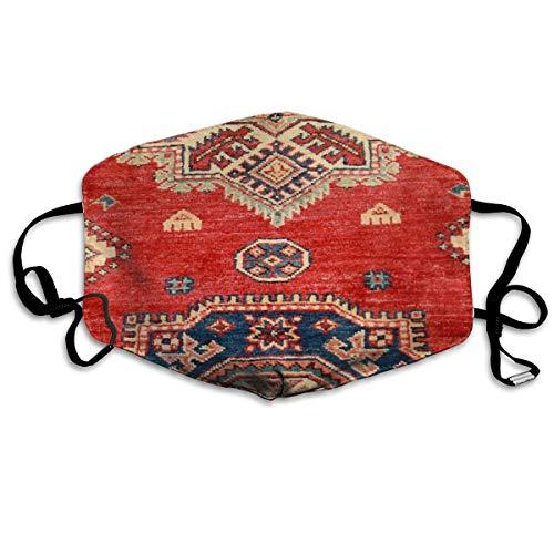 Houity stofdicht wasbaar, naturel gekleurd handgemaakt Anatolisch tapijt, zacht, ademend, wasbaar, knop verstelbaar, geschikt voor mannen en vrouwen