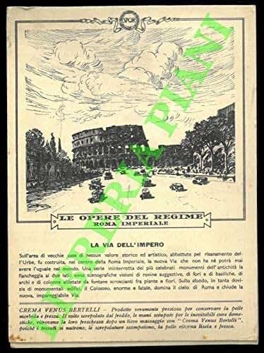 La via dell'impero - Il Foro Mussolini.
