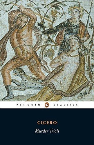 Murder Trials (Penguin Classics) by Marcus Tullius Cicero (1975-09-30)