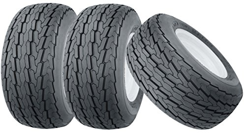 (3) New Trailer Tire 20.5x8-10 10PR Load Range E - 11045
