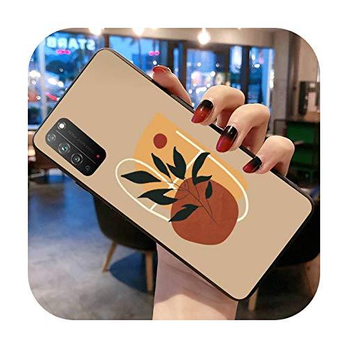 abstracta moda vintage chica minimalista arte pintura caso del teléfono para Huawei Honor 30 20 10 9 8 8x 8c v30 Lite view 7A pro-a7-Huawei Honor 9X