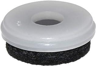 WAGNER QuickClick® stoelglijders I set van 8 vervangende glijders - NATURAL - diameter Ø 25 mm - voor basis Ø 25 mm - Made...