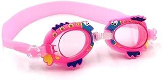 Swimming Goggles for Kids, No Leak Anti Fog UV Protection Triathlon Swim Goggles with Free Protection Case for Children Te...