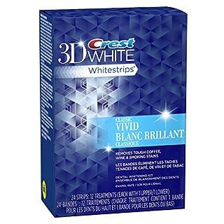 Crest 3D White Whitestrips Vivid Dental Whitening Kit, 12 Pouches (B0052OXNW6) | Amazon price tracker / tracking, Amazon price history charts, Amazon price watches, Amazon price drop alerts