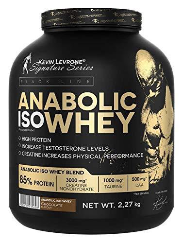 Kevin Levrone Black Line Anabolic Iso Whey 2kg - Pure Whey Isolat - Chocolate