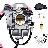 LOOFU Carburetor for 2002-2007 Suzuki Eiger LT-A400 LTA400 F 400 13200-38F2V 13200-38F00 13200-38FBV 13200-38F22 Carb