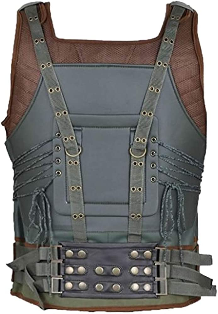 SRHides Men's Fashion Bane Leather Vest