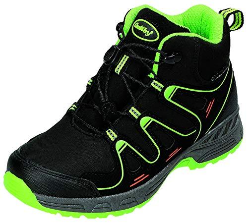 ConWay Stiefel K.Stiefel in schwarz/Lime, Größe 33.0,