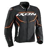 Ixon Blouson moto Sprinter Noir/Orange, L 1001010691055L