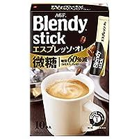 AGF Blendy[ブレンディ] スティック エスプレッソ・オレ微糖 10本入×24箱