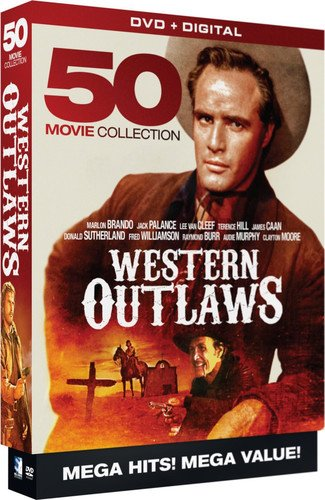 Western Outlaws - 50 Movie MegaPack - DVD+Digital