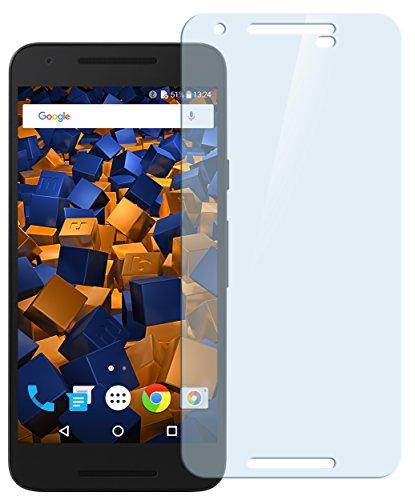 mumbi Hart Glas Folie kompatibel mit LG Google Nexus 5X Panzerfolie, Schutzfolie Schutzglas (1x)