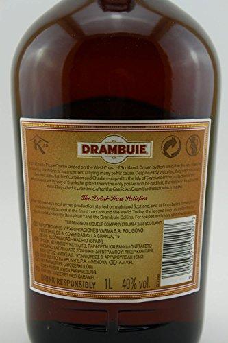 Drambuie 40% 1 lt. - Prince Charles Edward Stuart's Likör