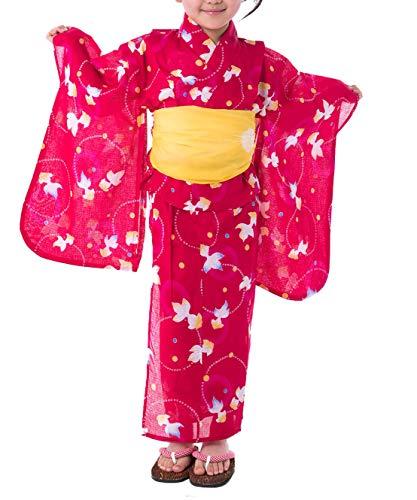 KYOETSU『浴衣3点セット紅梅』